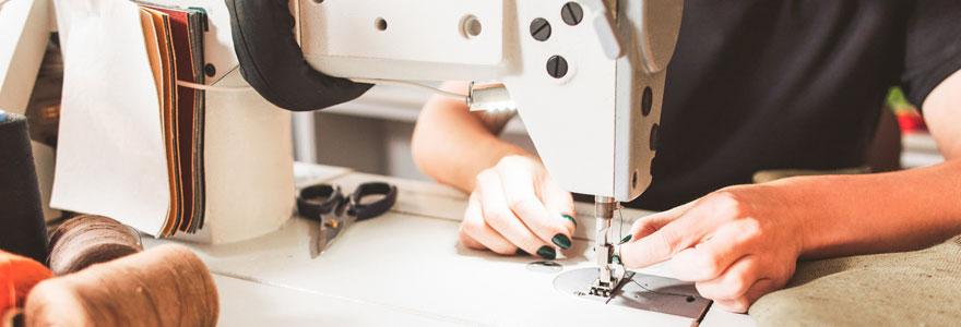 Suivre une formation pour intégrer le secteur du textile